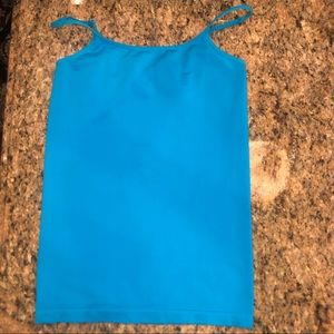 Other - Turquoise super soft nylon spandex tank top